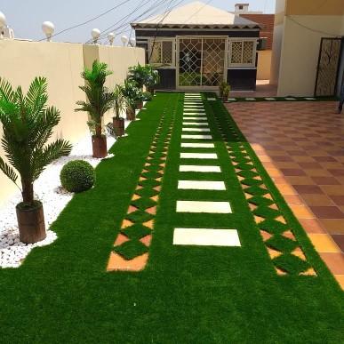 شركة تزيين الحدائق في عنيزة تجميل الحدائق المنزلية في عنيزة