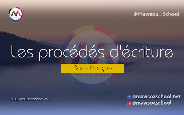 Les Procedes D Ecriture Bac Pdf Mawsoa School Francais