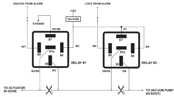 automotive-pneumatic-locking-circuit-configuration-diagram