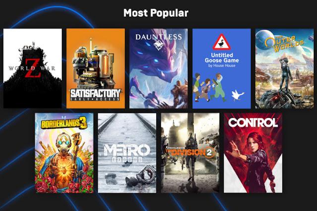 متجر Epic Games يتيح 15 لعبة مجانية خلال الأسبوع القادم