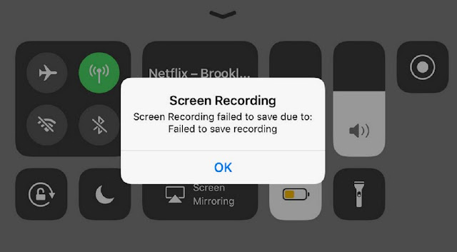 How to set up screen record iPhone