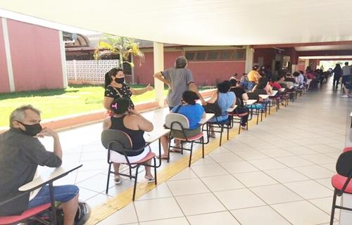 Prefeitura de Porto Velho prossegue vacinação do público acima de 40 anos com comorbidades