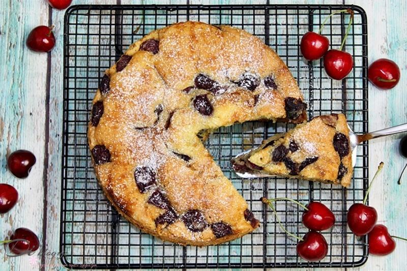 Ciasto ucierane z czereśniami, które zawsze się udaje