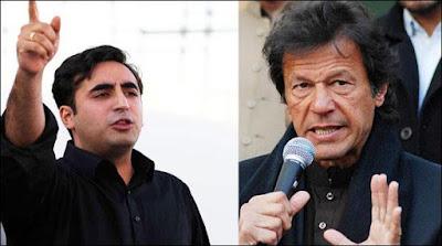 Bilawal Bhutto And Imran Khan On Same Page
