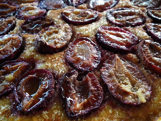 sweet kwisine, tarte aux questches, prunes