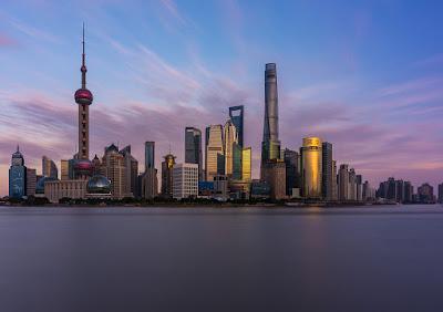 Latar Belakang Kota Shanghai