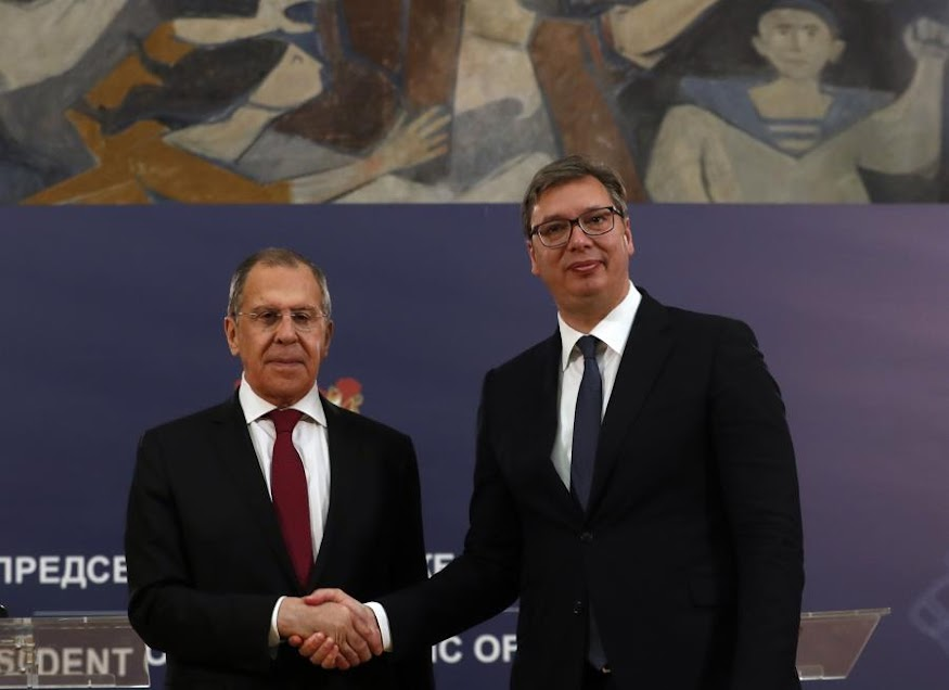 Βούτσιτς: Η Σερβία δεν θα επιβάλει κυρώσεις κατά της Ρωσίας