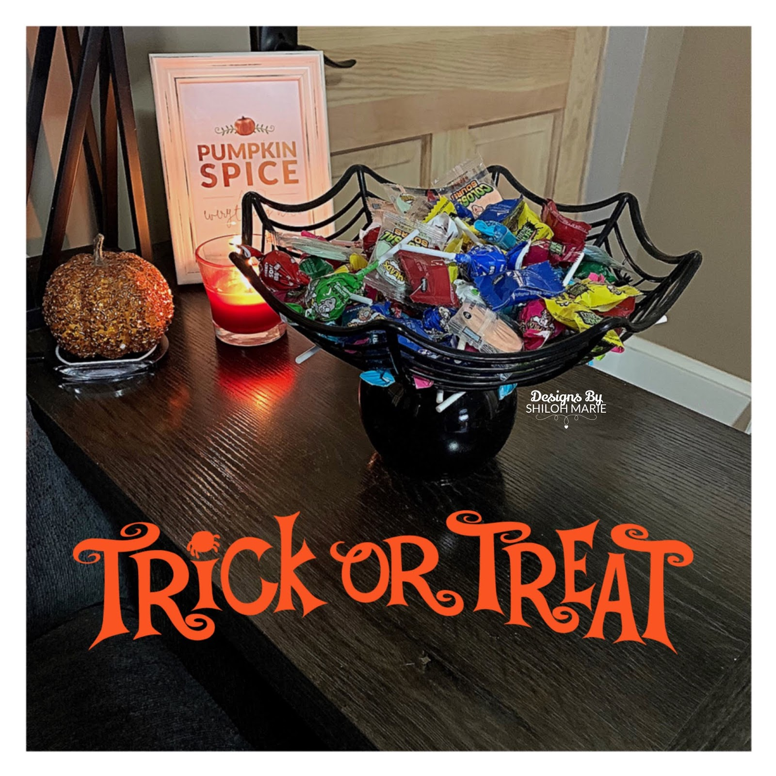 Surprising Halloween Candy Bowl Diy Dollar Tree Caraccident5 Cool Chair Designs And Ideas Caraccident5Info
