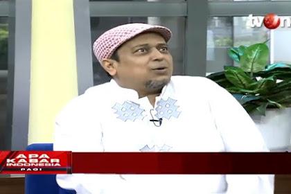 Ustadz Haikal Hassan: UAS Jadi Kontroversi Setelah Diundang KPK Karena Bukan Pendukung Jokowi