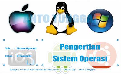 pengertian sistem operasi dan macam macam sistem operasi