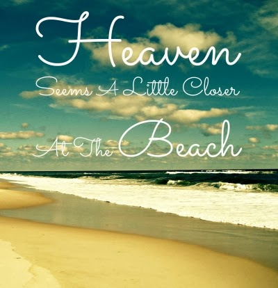 Ocean Quotes And Sayings heaven seems closer at the