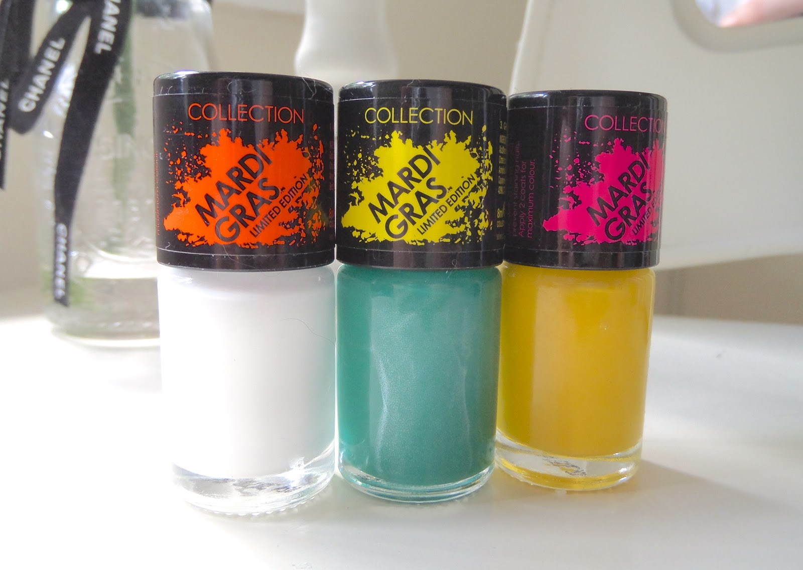 Collection Cosmetics Mardi Gras Summer Collection Polish Review