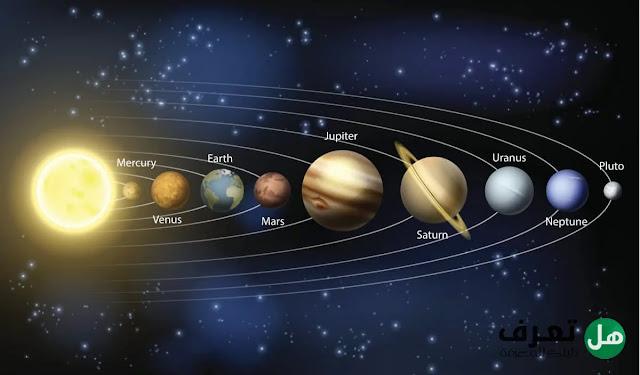 هل تعرف ما هي كواكب المجموعة الشمسية ؟