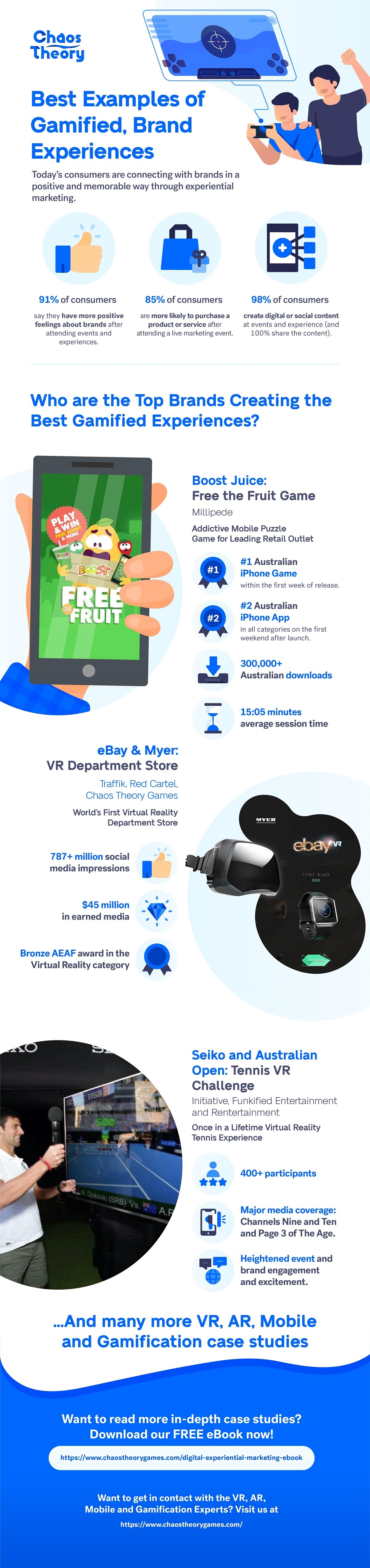 Best VR, AR And Mobile Experiential Marketing Campaigns #infographic #Marketing #VR #AR