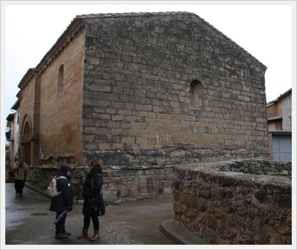 Templo de San Fructuoso en Bierge (Huesca)