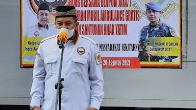 DPP FKMB Bersama DENPOM JAYA Luncurkan Mobil Ambulance Bebas Biaya bagi warga