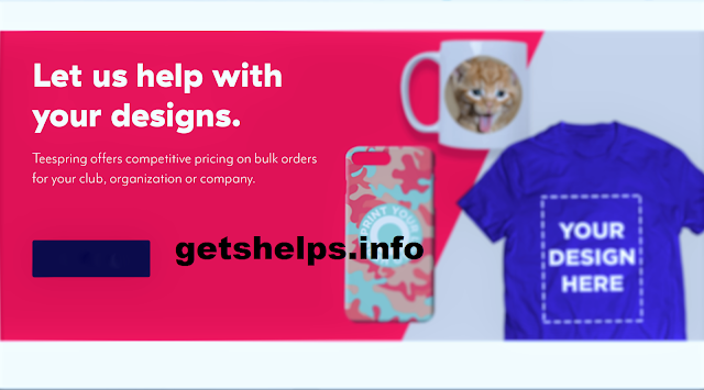 Earn money from Teespring by selling t-shirts