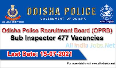 Odisha-Police-Recruitment-Board-Sub-Inspector-Vacancies-Apply-Onine-allindiajobs.net