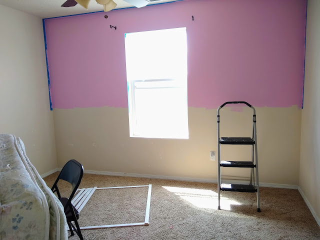 Painting room pink