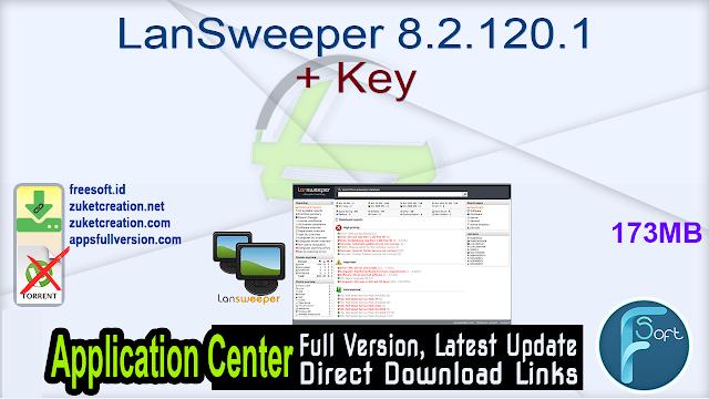 LanSweeper 8.2.120.1 + Key