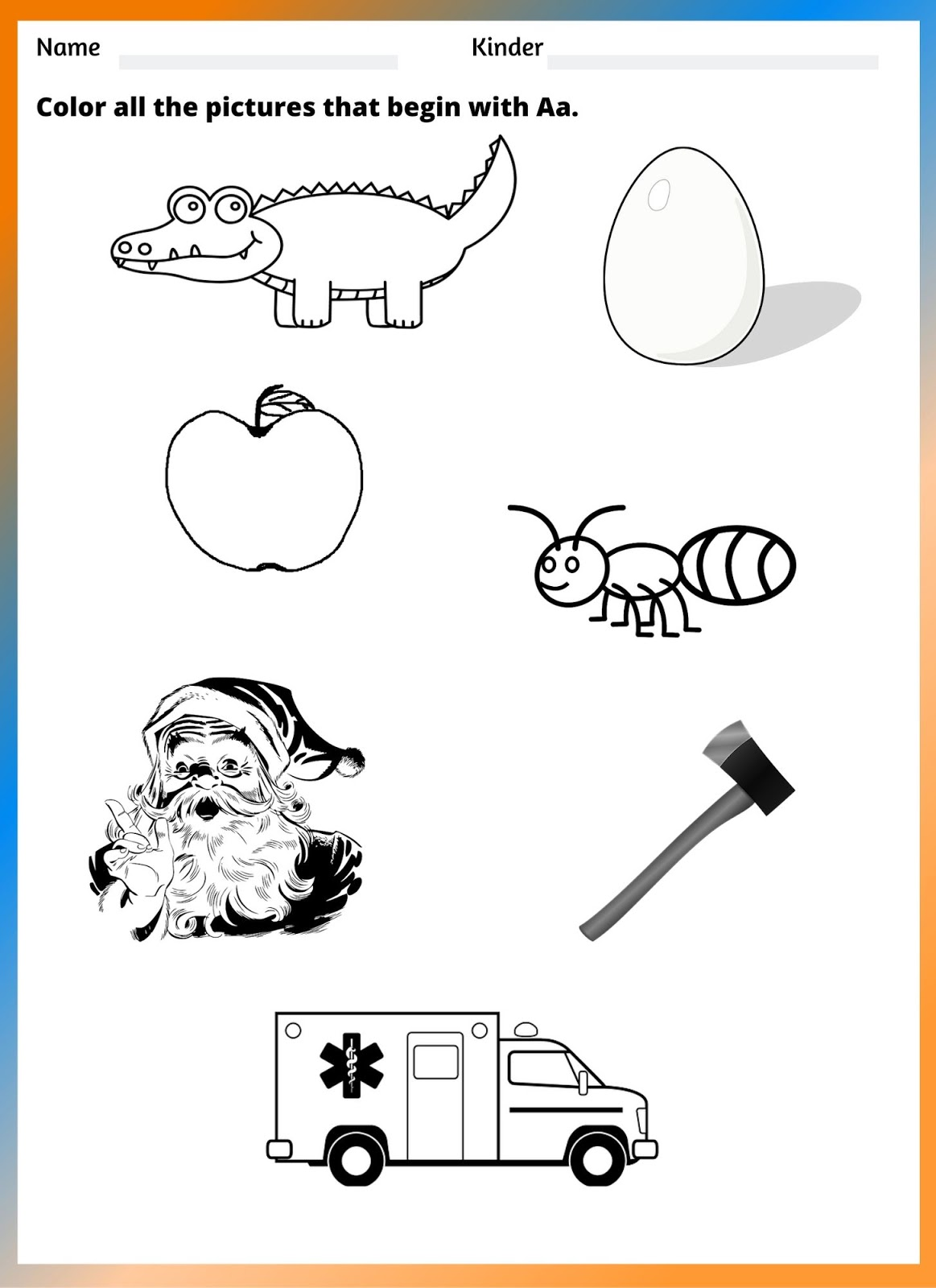 small resolution of Free Worksheets for Teaching Vowels to ESL Students – Kidzonic