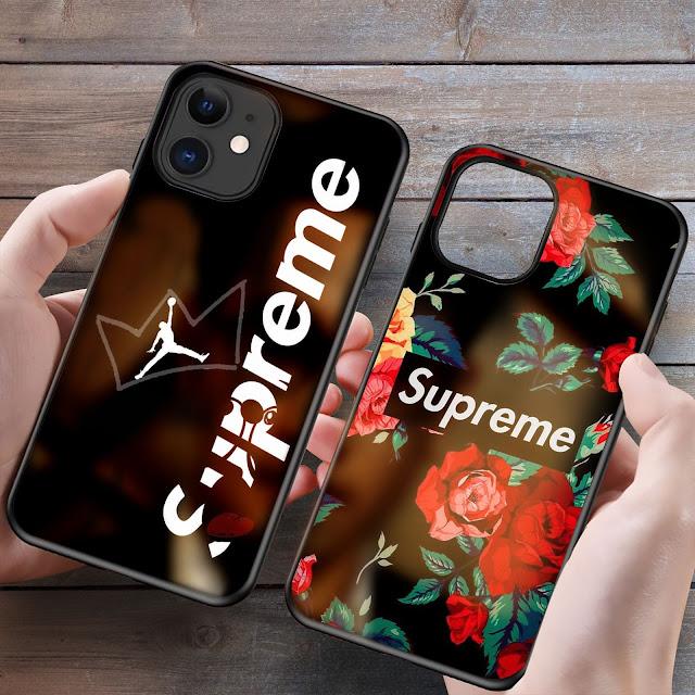 Mockup Glass Case Custom iPhone 12/12 Pro Gratis