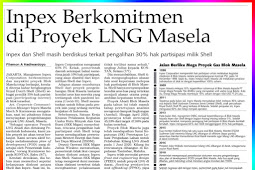 Inpex Committed to the Masala LNG Project