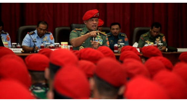 Panglima TNI: Saya berikan prajurit terbaik kawal penyidik KPK!