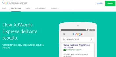 Cara Daftar Google Adwords Express Dengan Lebih Mudah