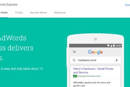 Inilah Cara Daftar Google Adwords Express Dengan Lebih Mudah