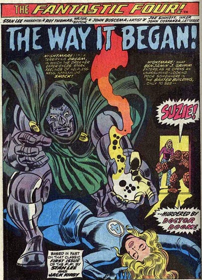 Fantastic Four 126-Doom-WayItBegan