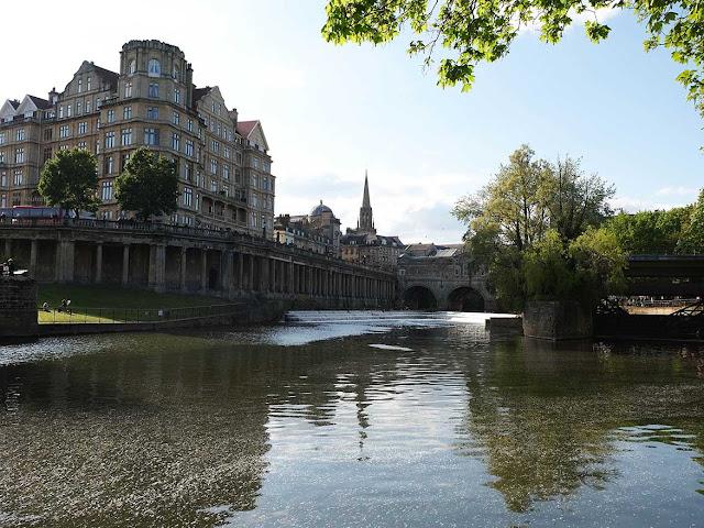 Promenade sur les quais de Bath
