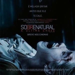 Capa Filme Sobrenatural A Última Chave