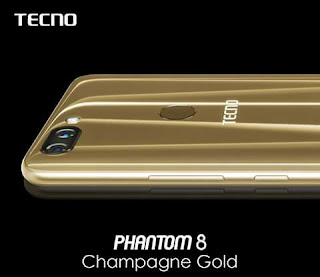 Tecno's new Phantom 8 comes with 6GB RAM, 20MP front camera, 12MP+13MP dual rear cameras and more