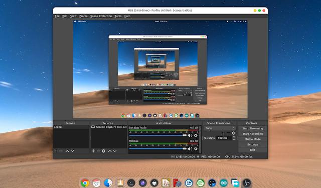 Cara Install OBS Studio Ubuntu Linux 20.04 PPA