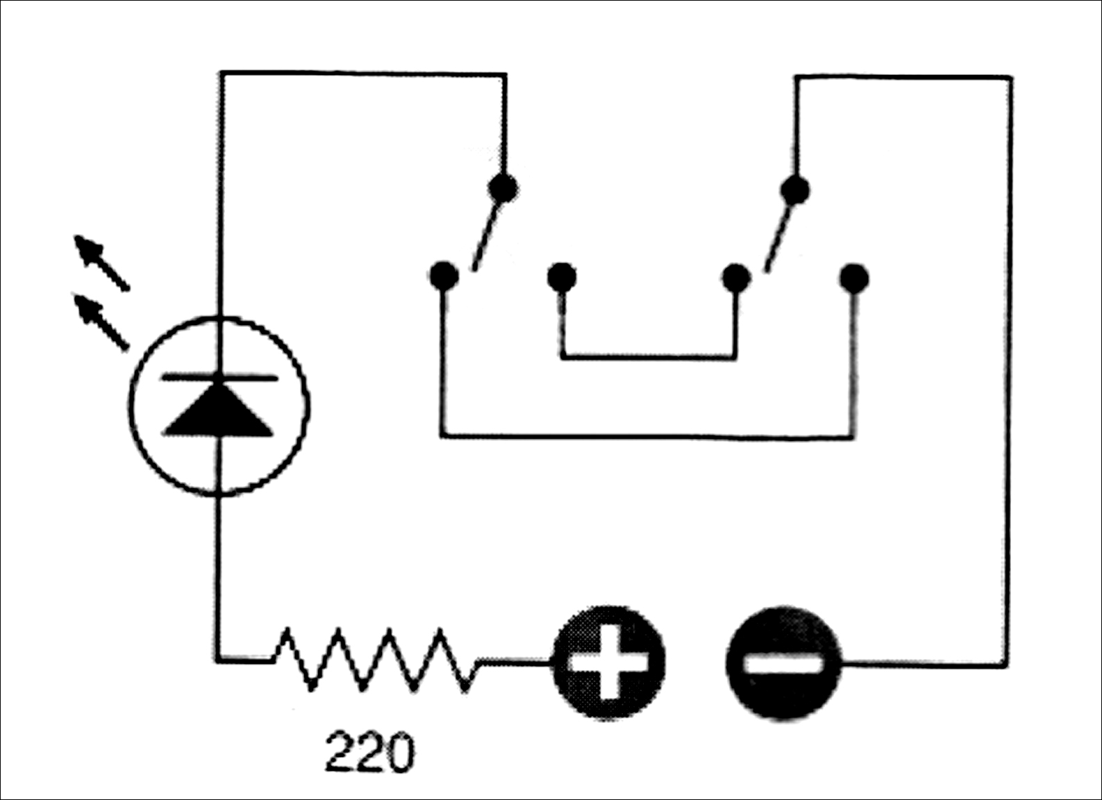 Double Pole Single Throw Light Switch Wiring Diagram Car Air Horn A Get Free Image About