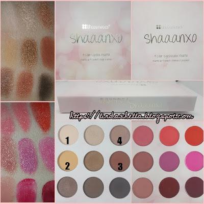 Shaaanxo Palette