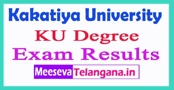 KU Degree BA/ B.Com/ B.Sc Results 2017