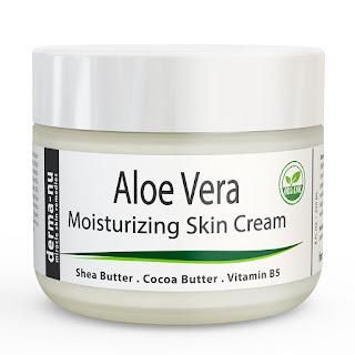 Aloe Vera Dry Skin Cream-8oz