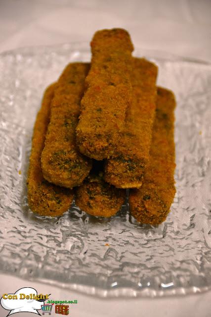 מקלוני פלאפל Falafel sticks