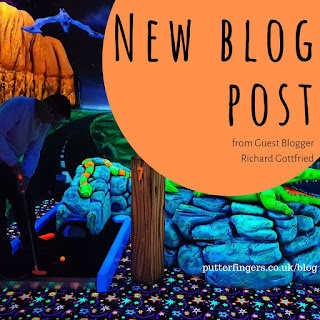 Richard Gottfried - guest blogger for Putterfingers Crazy Golf