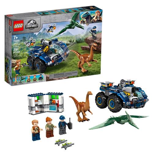 レゴ(LEGO)ジュラシック・ワールド ガリミムスとプテラノドンの脱走 75940