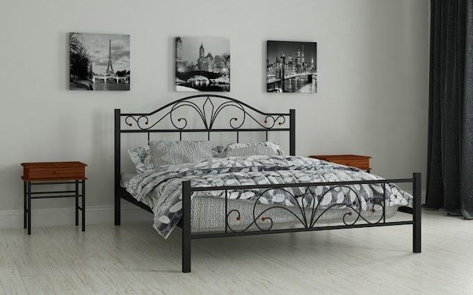Кровать металлическая Элиз 120х190/200 ТМ Мадера
