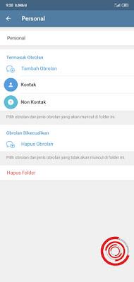 4. Pilih Edit untuk mengedit Folder