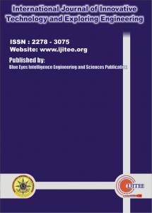 International Journal of Innovative Technology and Exploring Engineering (IJITEE)
