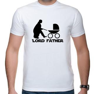 koszulka dla świeżo upieczonego taty lord father