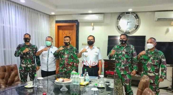 Walikota Makassar, Siap  Dukung  Program TNI AL Pembentukan  Kampung Bahari Nusantara