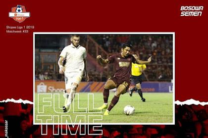 Hasil PSM vs PS Sleman Liga 1 Indonesia