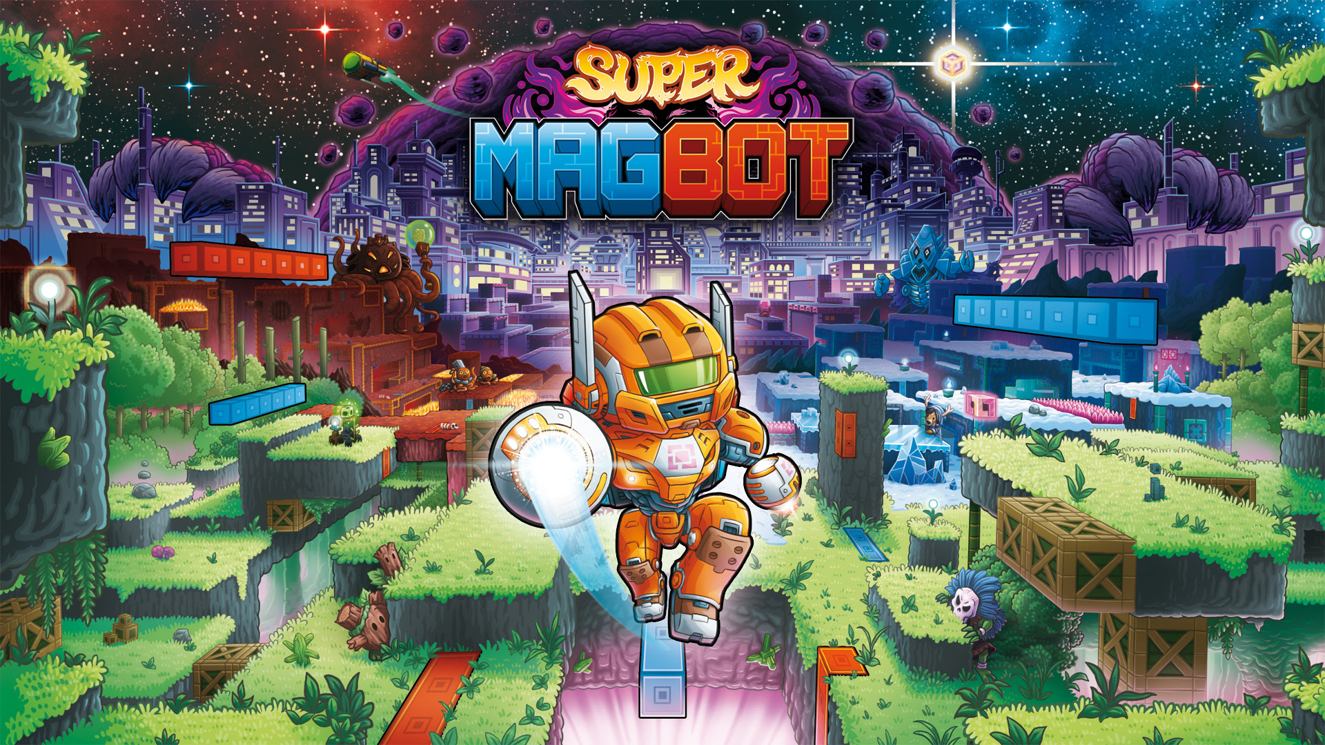 Experience a Magnetic Attraction as Super Magbot Powers Up its PC Demo