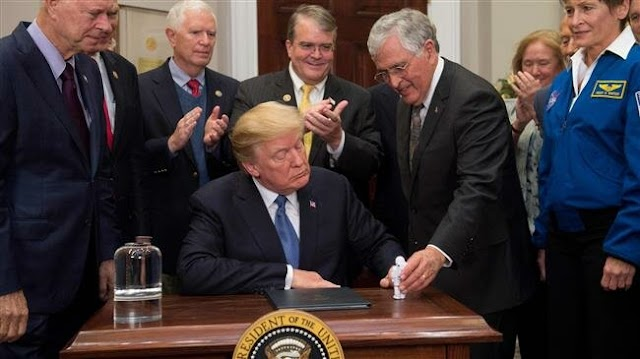 Backtracking on initial support, US President Donald Trump criticizes NASA for focusing on Moon
